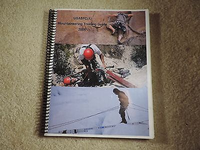 Special Forces USASFC(A) Mountaineering Training Guide 2008
