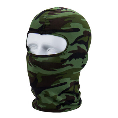 Camouflage Cycling Protecting Full Face Mask Ultra-thin Neck lycra Outdoor