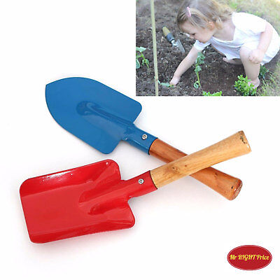 2pcs Children Kids Garden Tools Set Trowel Rake Shovel Home Gardening Beach Toy