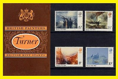 1975 British Painters Turner Presentation Pack 69 Royal Mail issued
