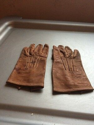Late Victorian/Early Edwardian Childrens Leather gloves