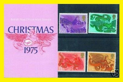 1975 Christmas Presentation Pack 76 Royal Mail issued