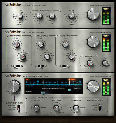 Softube Passive Active EQ Pack (AAX/AU/RTAS/VST) iLok License