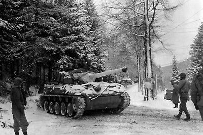 2nd Armored Division M18 Hellcat Tank Destroyer Battle of the Bulge
