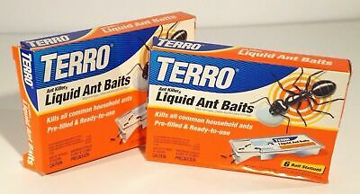 New Terro Ant Killer Liquid Ant Baits Pre-filled and Ready to use (Pack of 2)