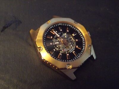 Gents Rotary Skeleton Automatic Watch Spares Repair..