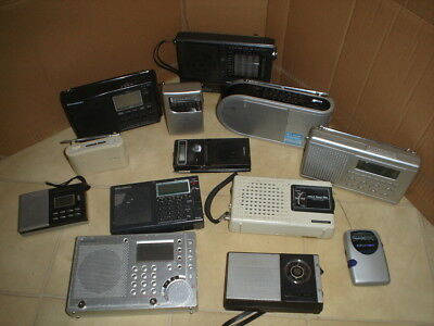 Lot De 13 Radio ! Sony Grundig Seangean Etc......