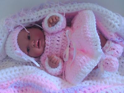 barenguer 15 inch ethnic baby doll to reborn or play