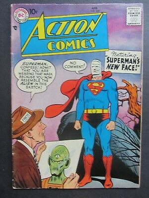 ACTION COMICS #239 vg 1958 10-cent DC early Silver Age 1 book lot