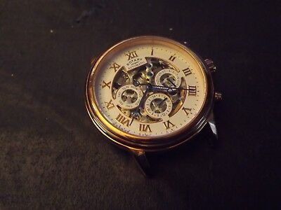 Gents Rotary Skeleton Automatic Watch Spares Repair