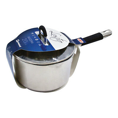 Stainless Steel Kitchen Induction Saucepan Stockpot Milkpan With Lid 2.8/4L LSTR