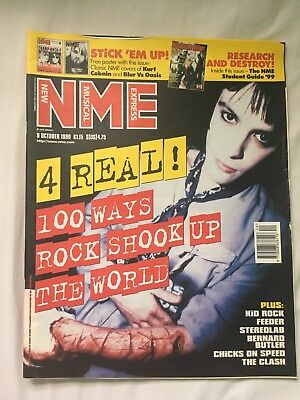 NME Music Magazine October 1999 Richey Manic Street Preachers