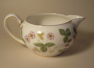 Wedgwood Wild Strawberry small milk or cream jug