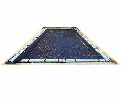 Pool Leaf Net Inground 16X24 Ft Rectangle Swimming Pool