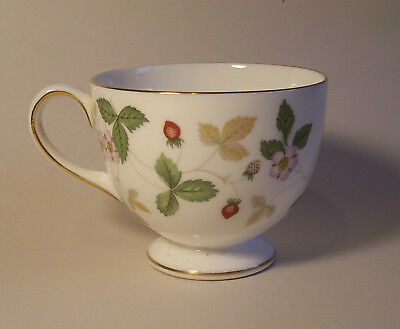 Wedgwood Wild Strawberry footed cup.