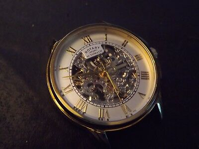 ....gents Rotary Skeleton Automatic Watch Spares Repair