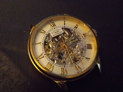 /gents Rotary Skeleton Automatic Watch Spares Repair