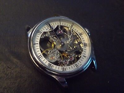 //gents Rotary Skeleton Automatic Watch Spares Repair