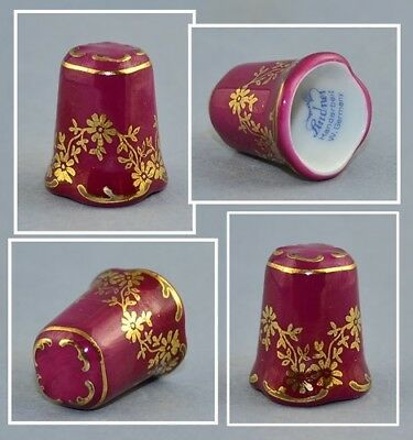 Lindner Germany Flower Thimble # 2