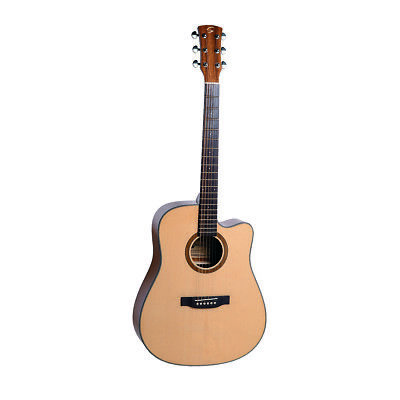 CHITARRA ACUSTICA SOUNDSATION OLYMPIC-DNCE-GNT DREADNOUGHT CUTAWAY w/PREAMP
