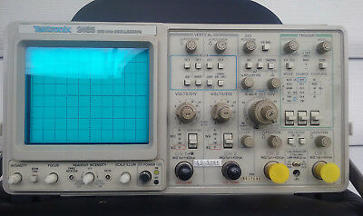 """Tektronix 2465 Oscilloscope 300MHz Pre Owned Tested & Works """"FREE SHIPPING"""""""