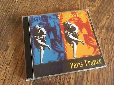 Guns N Roses CD Paris France Tour 1993