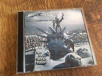 Helloween Concert CD Goarshausen Germany 2015 Double CD