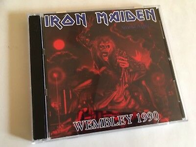 Iron Maiden Wembley London No Prayer For The Dying Tour 1990