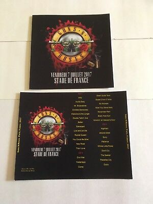 Guns N Roses CD Paris France Tour 2017