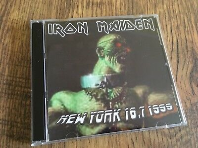 Iron Maiden  CD New York USA 1st Night Ed Hunter Tour 1999