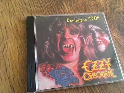 Ozzy Osbourne CD Donington 1984 Black Sabbath