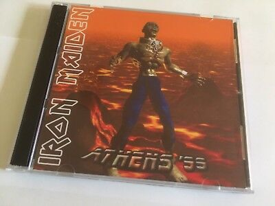Iron Maiden  CD Athens Greece Ed Hunter Tour 1999