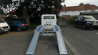 Recovery Truck Aluminium Ramps Car Transporter Salvage Use From £325.00 Plus Vat
