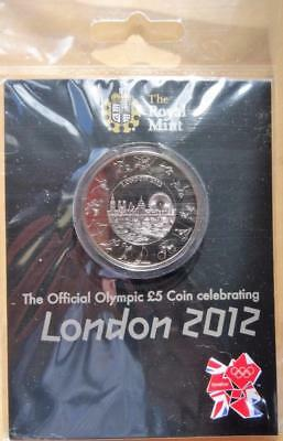 GB 2012 The Royal Mint Official Olympic £5 Coin Celebrating London 2012 Sealed