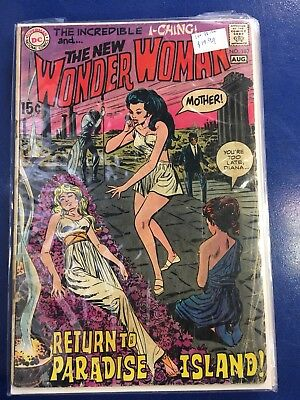 Wonder Woman #183 Awesome Bronze Age Wonder Woman Comic See My Others!