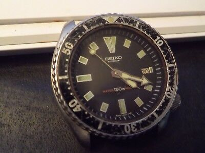 Gents Seiko Watch 7002-700J Spares Repair..untouched Untested