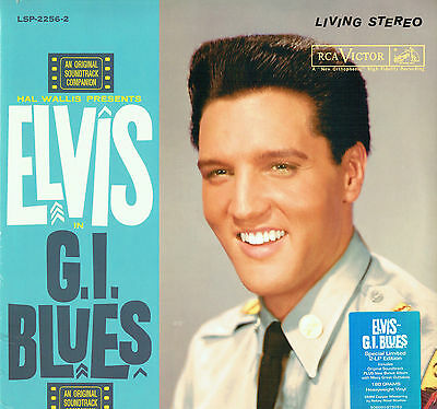 Elvis Presley - G.I Blues - FTD 2 LP Ltd Ed 180g Vinyl - NEW & SEALED - DELETED