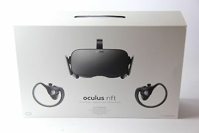 BRAND NEW BOXED OCULUS Rift & Touch Bundle - Full Virtual Reality Experience