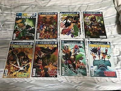 Teen Titans Rebirth 1-12 + Lazarus Contract Special NM