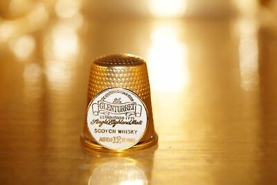 Metal Thimble - Glenturret Scotch Whiky