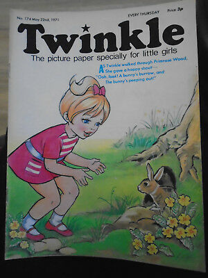 TWINKLE COMIC # 174 May 22nd 1971