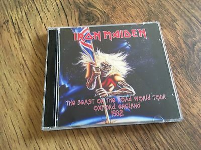 Iron Maiden CD Oxford England The Number Of The Beast Tour 1982