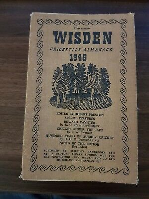 wisden cricketers Almanack 1946