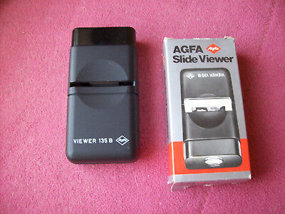 Agfa Slide Viewer 135 B For 2X2 Slides  - $9.99 Free Usa Shipping-