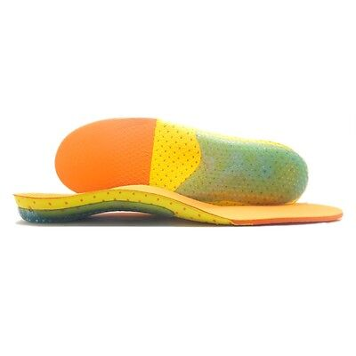 Orthotic insoles Gel High Arch support Heel Cushion Insole US8-10