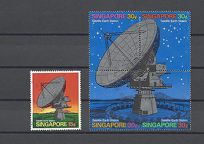 SINGAPORE 1971 SG 160, 161a USED Cat £28.25