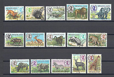 SWAZILAND 1969 SG 161/75 USED Cat £25