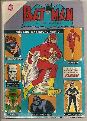 Batman Nº Extraordinario 07/1964 Presenta Flash Annual Usa # 1 Novaro Mexico