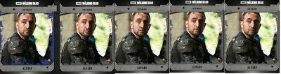 Topps The Walking Dead Community Alvaro 1X Blue 4X Black