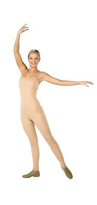 Body Wrappers 202 Adult Size Large (size 12-14) Scoop Neck Nude Camisole Unitard